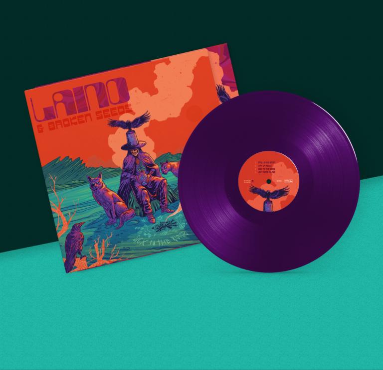 LTD edition purple vinyl front